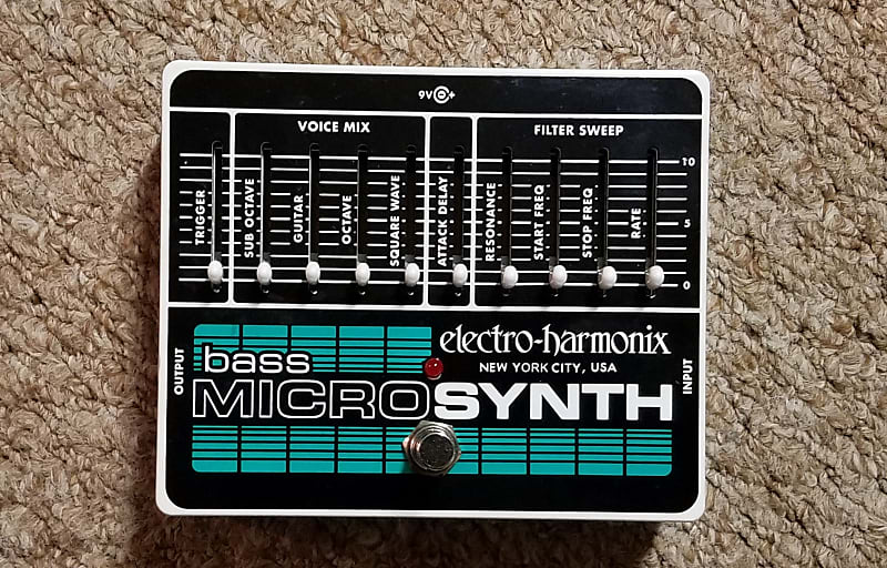 electro harmonix bass micro synth 2019 dave 39 s reverb. Black Bedroom Furniture Sets. Home Design Ideas