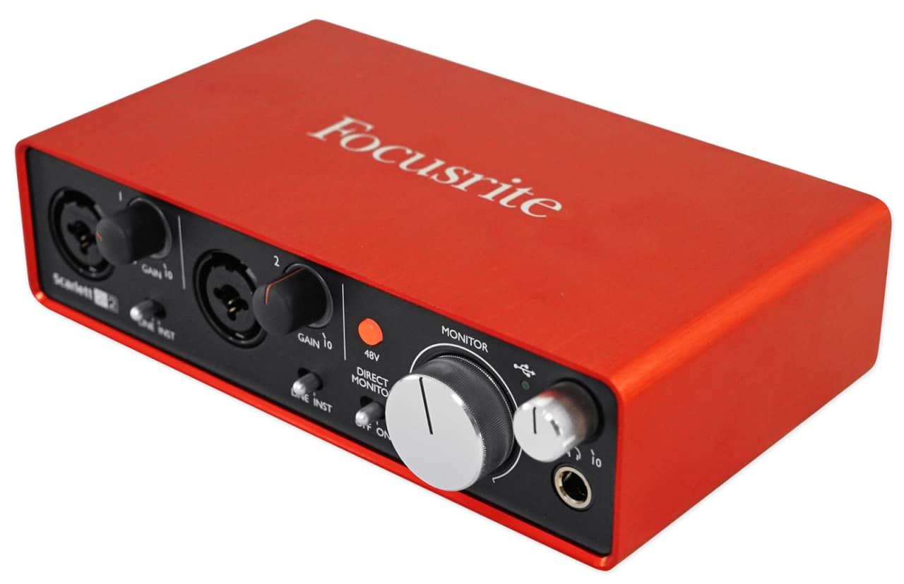 Focusrite SCARLETT 2I2 MK2 192KHz USB 2.0 Audio Interface ... Scarlett 2i2