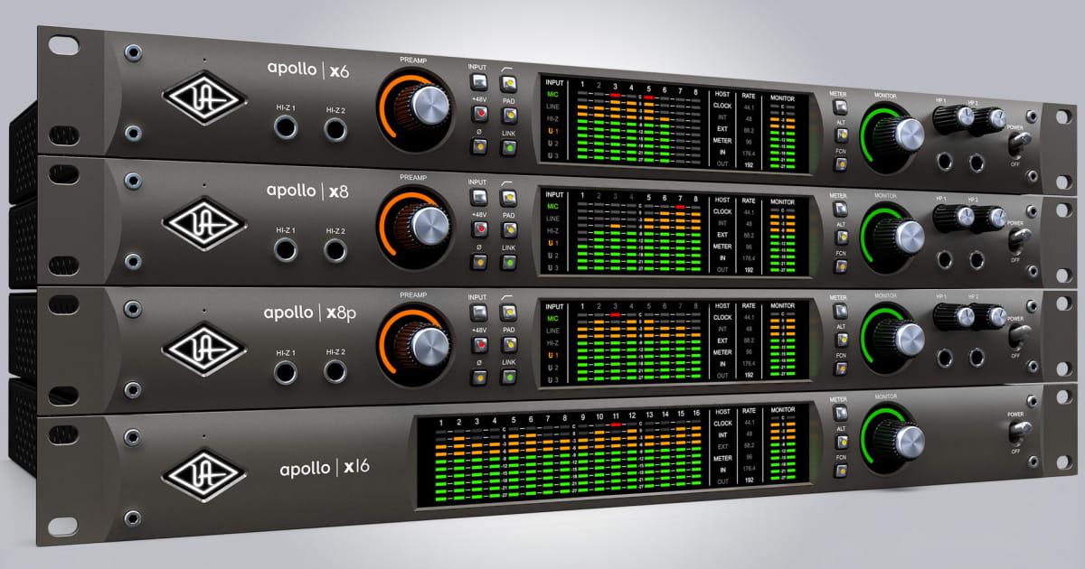 Universal Audio Releases New Apollo X Line of Audio | Reverb News