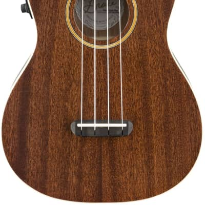 Fender Grace Vanderwaal Signature Uke Walnut Fingerboard Natural Finish Ukulele