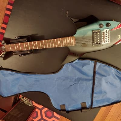 Jay Turser Shark Guitar  Blue for sale
