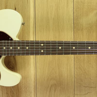 Fender Custom Shop Ltd Edition 60s Tele Custom Thinline w/bigsby Journeyman Relic Aged Olympic White for sale