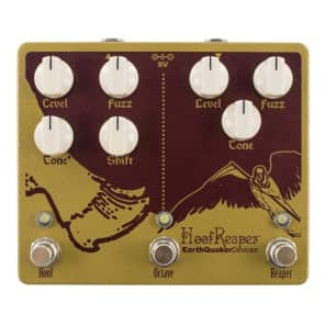 EarthQuaker Devices Hoof Reaper Double Fuzz with Octave Up V2