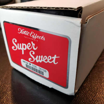 Xotic Super Sweet Boost, 1 Owner, Original Box & Stuffers