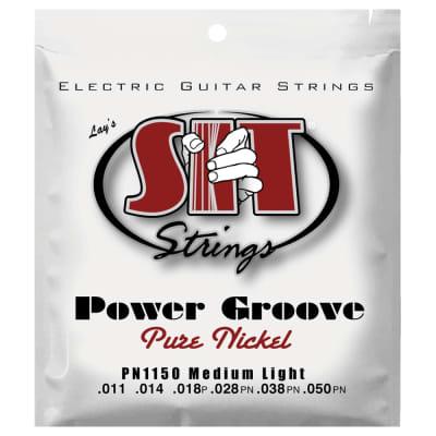 SIT Strings PN1150 Medium Light Power Groove Pure Nickel .011-.050