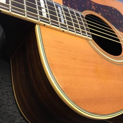 70's El Degas Acoustic Guitar Model # GL36 Dreadnaught MIJ for sale