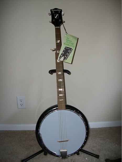 Progressive Insurance Payment >> Harmony Sovereign 5 string banjo 1960s Black | Reverb