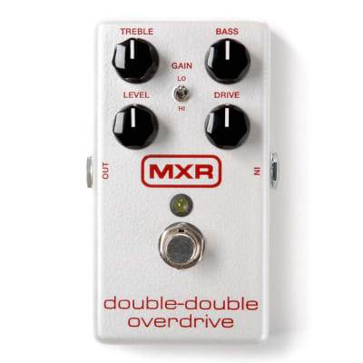 MXR M250 Double-Double Overdrive Guitar Effects Pedal Stompbox w/ True Bypass