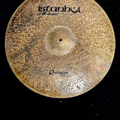 """Used 22"""" Istanbul Mehmet Origin Dark Ride Cymbal"""