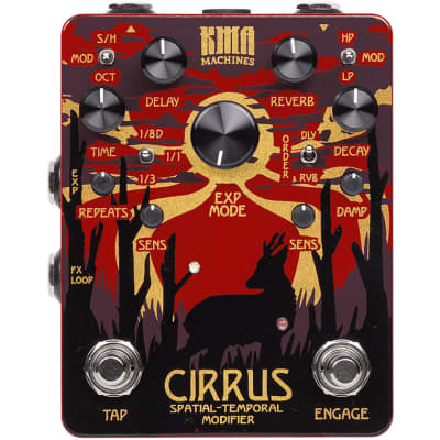 KMA Audio Cirrus Delay and Reverb Pedal