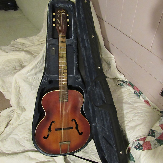 Dating silvertone archtop guitarer