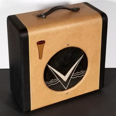 """Rare 1954 English Electronics """"Tonemaster"""" amp, guitar or harp, 1x10, Valco, all orig, super clean. for sale"""