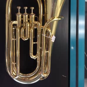King 623 Diplomat Student Model 3/4-Size Upright 3-Valve Baritone Horn