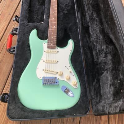 Fender Stratocaster - Jeff Beck Artist Series 2012 Surf Green for sale