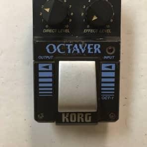 Korg OCT-1 Octaver Analog Octave Rare Vintage Guitar Bass Effect Pedal MIJ Japan for sale