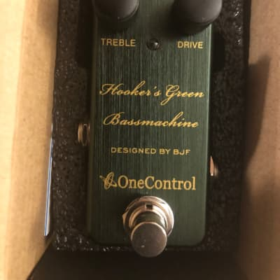 One Control Hooker's Green Bass Machine 2020 Green for sale