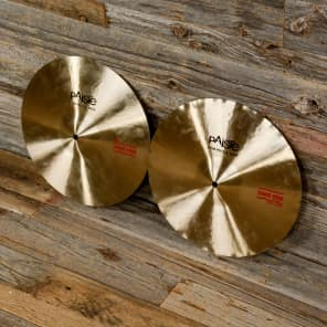 "Paiste 14"" Formula 602 Classic Sound Edge Hi-Hat Cymbals (Pair) Traditional"