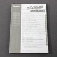 Roland JX-305 Original Owner's Manual