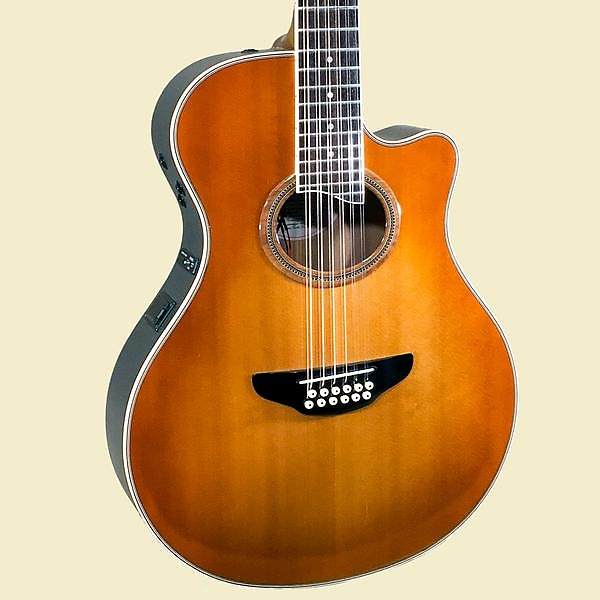 yamaha apx 9 12 thinline 12 string acoustic guitar used reverb. Black Bedroom Furniture Sets. Home Design Ideas