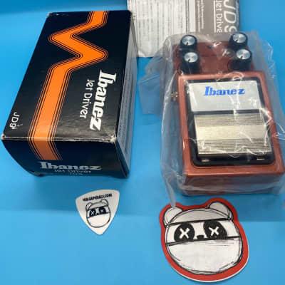 Ibanez JD9 Jet Driver Overdrive w/Original Box | Fast Shipping!