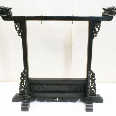 Small Gong Stand  (was gon094) - repaired crack at dragon head. works fine. very sturdy.
