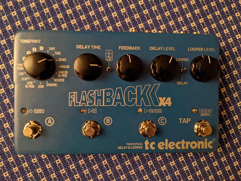 Tc Electronic Flashback Delay : tc electronic flashback x4 delay and looper pedal reverb ~ Hamham.info Haus und Dekorationen