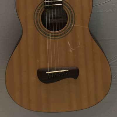 Olympia OP-2 by Tacoma, 3/4 or parlor acoustic guitar, plays good, local pickup only for sale