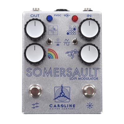 Caroline Somersault Chorus Vibrato Silver/Navy Throwback CME Exclusive for sale