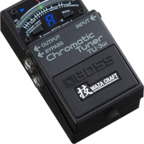Boss TU-3W Waza Craft True Bypass Chromatic Pedaln Tuner for sale