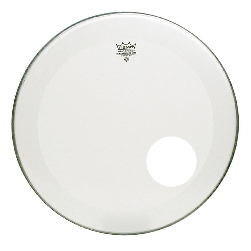 remo powerstroke 3 bass drum head coated 22 inch no reverb. Black Bedroom Furniture Sets. Home Design Ideas
