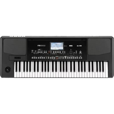 Korg PA300 61 Keys Professional Arranger, 950+ Sounds, USB-MIDI Interface,