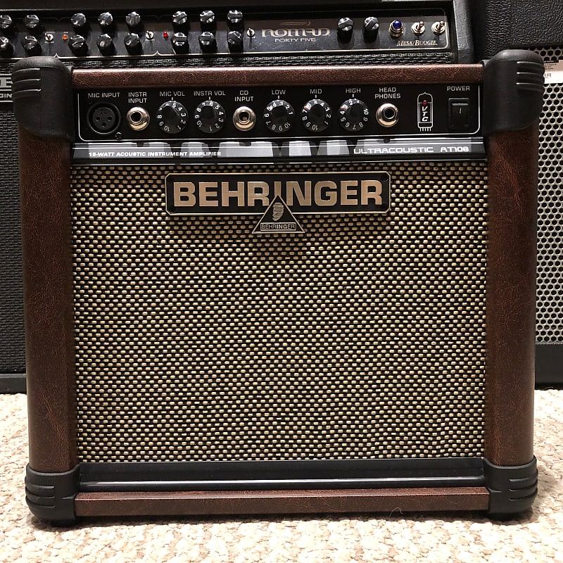 Behringer Ultracoustic AT108 15W Acoustic Guitar Combo
