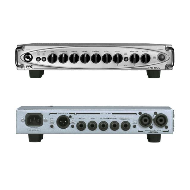 Gallien-Krueger MB500 500-Watt Ultra Light Micro Bass Head Open Box Demo image
