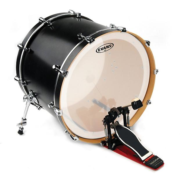 evans bd20gb4c eq4 frosted bass drum head 20 reverb. Black Bedroom Furniture Sets. Home Design Ideas