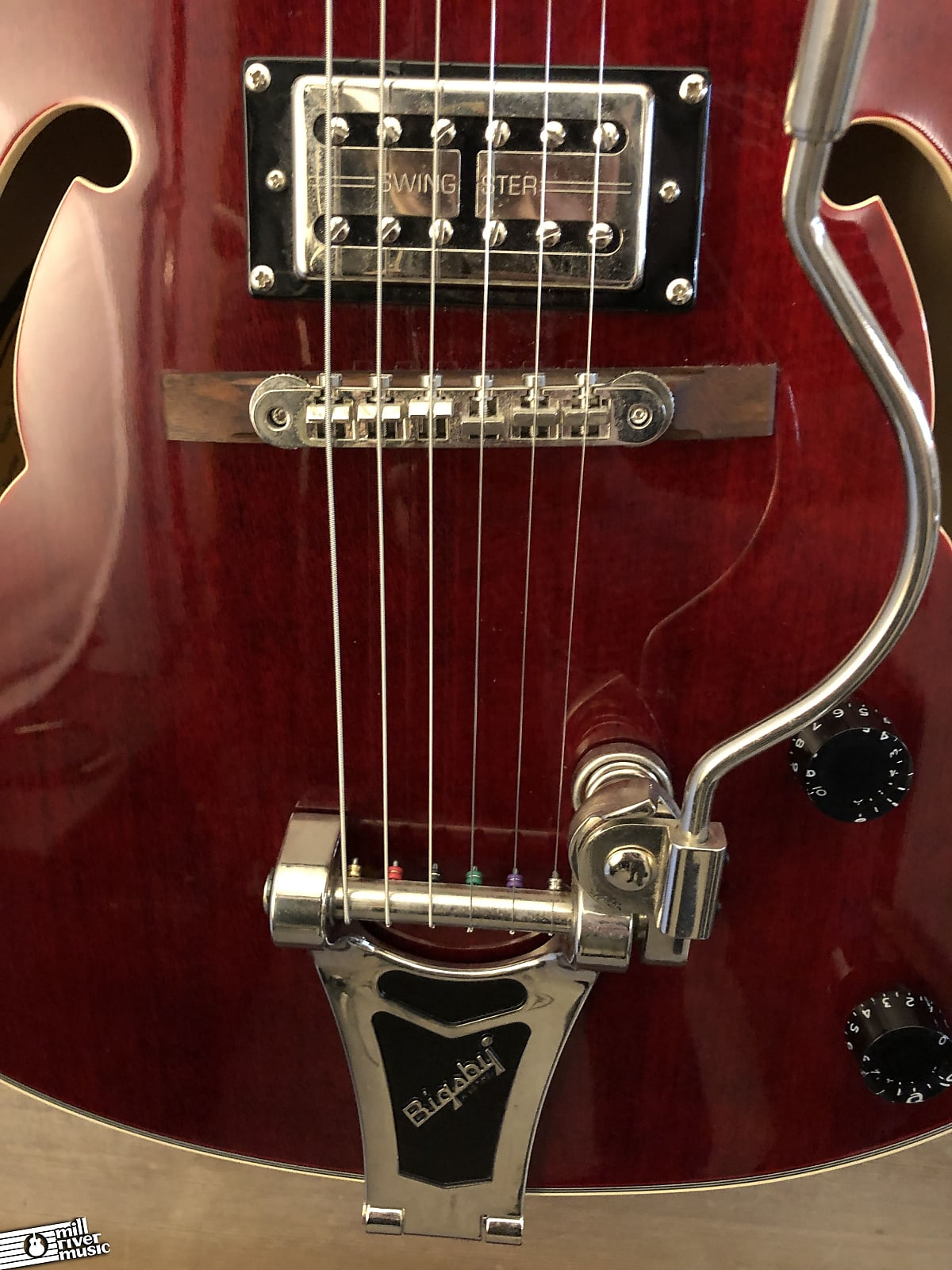 Epiphone Emperor Swingster Hollow Body Wine Red 2014