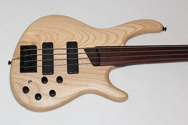 cort artisan b4fl 4 string fretless electric bass guitar reverb. Black Bedroom Furniture Sets. Home Design Ideas