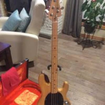Music Man Stingray bass 1978 blonde for sale