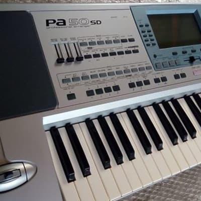 Korg PA50SD arranger 61 - styles pa50 sd