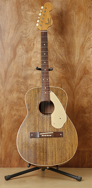 Vintage 1965 Fender Newporter Acoustic Guitar