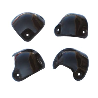 Genuine Marshall Front Corners - Package of Four Corners Plus 12 Brass Rivets - M-PACK-00016