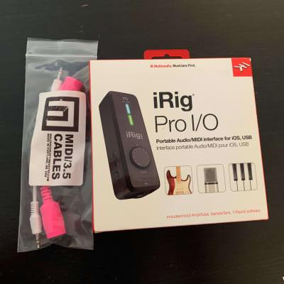 IK Multimedia iRig Pro I/O Mobile Audio Interface + Extras