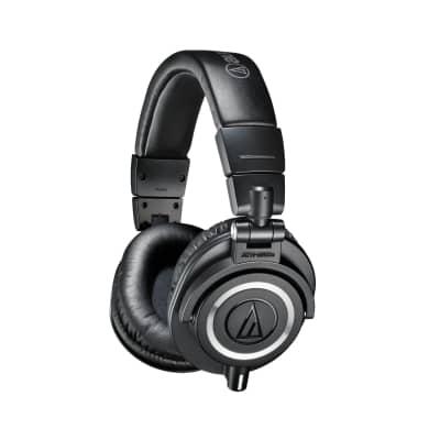 Audio Technica ATH-M50X Closed Back Studio Monitoring Headphones