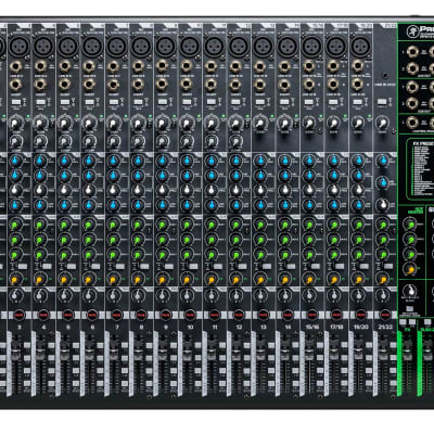 Mackie ProFX22v3 22-Channel 4-Bus Professional Effects Mixer w/USB ProFX22 v3