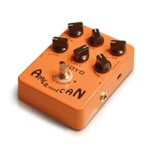 NEW JOYO JF-14 American Sound Fender Amp Sim Pedal Record direct!
