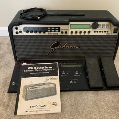 1999 Johnson  Millennium JM250 Guitar Head w/j12 footswitch for sale