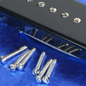 Set Of 6 Lindy Fralin P90 & Humbucker Nickel Pickup Pole Screws Gibson Replacement New