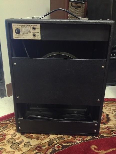 Univox Lafayette U65rn Combo Amplifier 1970s Reverb