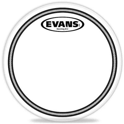 """Evans TT13MEC2S Marching EC2S Tenor Drum Head - 13"""""""