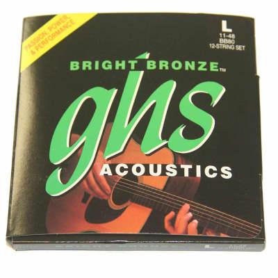 GHS Bright Bronze  12-String Light Acoustic Strings 11-48