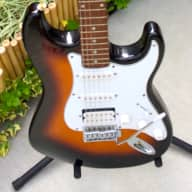 Crate Electra Sunburst Strat Style HSS 80's/90's for sale